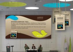 Logo und Keyvisual in der Anwendung